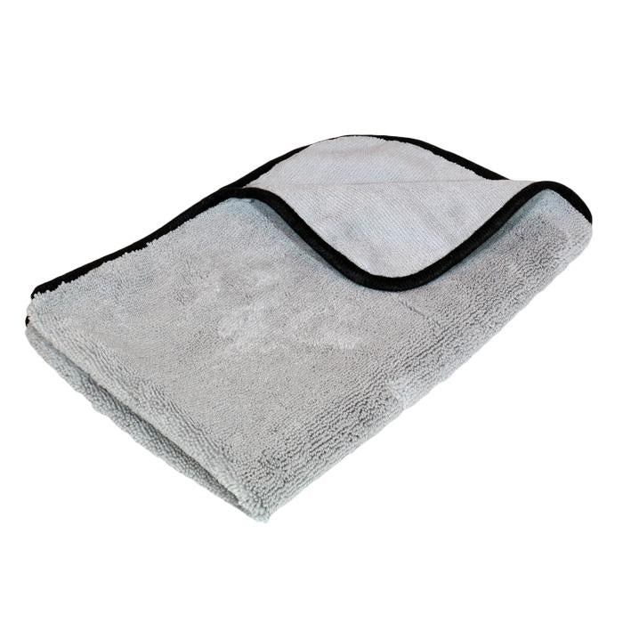 Grey Plush Microfibre