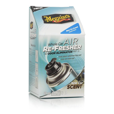 Meguiars Whole Car Air Re-Fresher Odor Eliminator New Car Scent