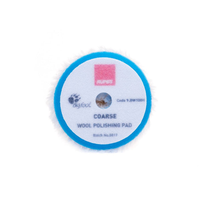 Rupes Blue Coarse Wool Polishing Pads