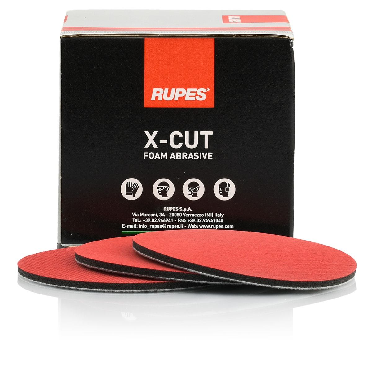 Rupes X-Cut Abrasive Discs 125mm P3000 Grade