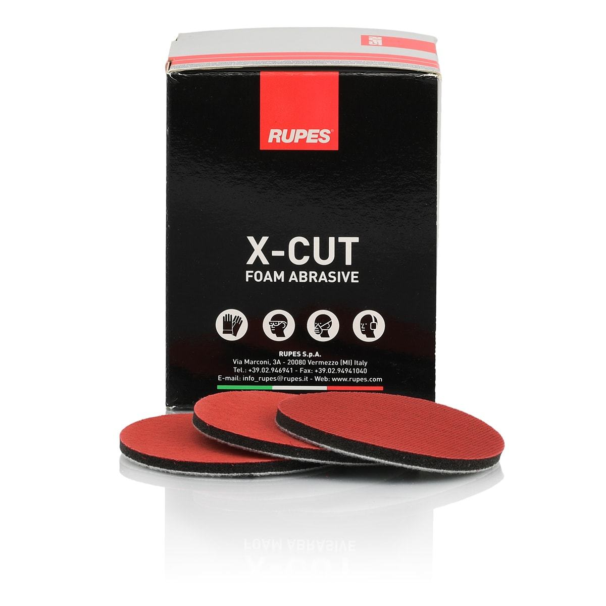 Rupes X-Cut Abrasive Discs 75mm P3000 Grade