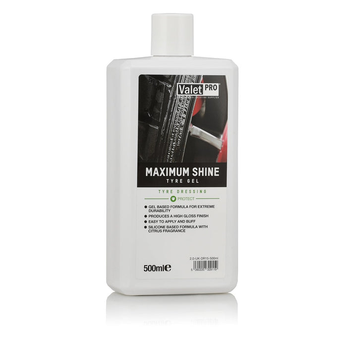 Valet Pro Maximum Shine Tyre Gel