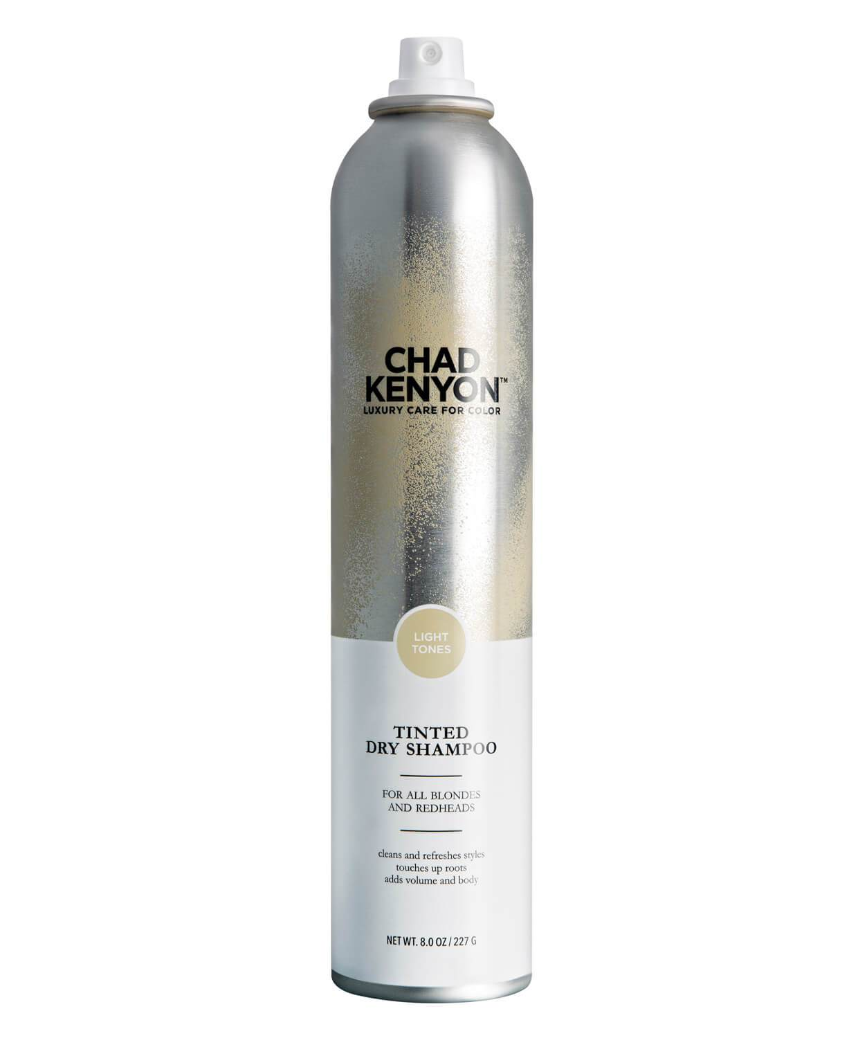 Tinted Dry Shampoo - Light Tones Shade