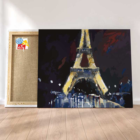 EIFFEL RAIN - Painting By Numbers