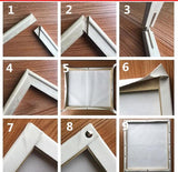 DIY Wooden Frame - Painting By Numbers