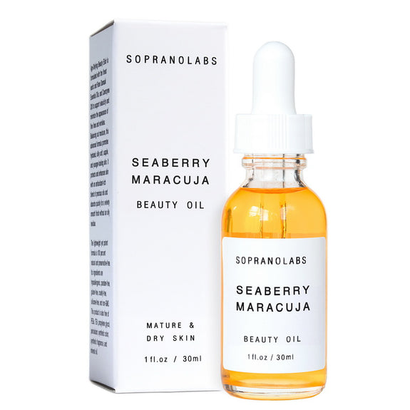 SopranoLabs - SEABERRY MARACUJA Vegan Organic Natural Beauty Oil Serum