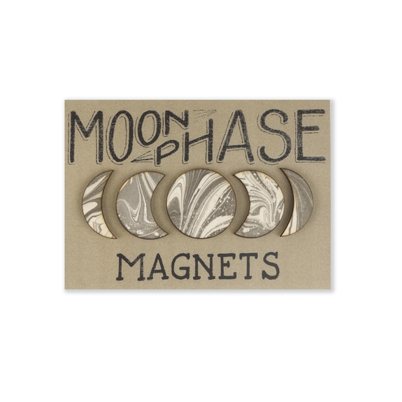 Savvie Studio - Moon Phase Magnets