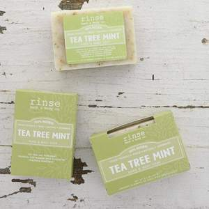 Rinse Bath Body Inc - Soap - Tea Tree Mint Mini Bar