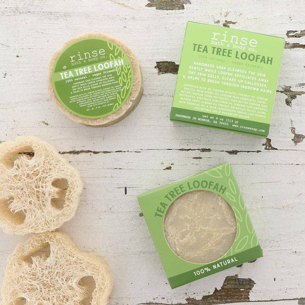 Rinse Bath Body Inc - Soap - Tea Tree Loofah
