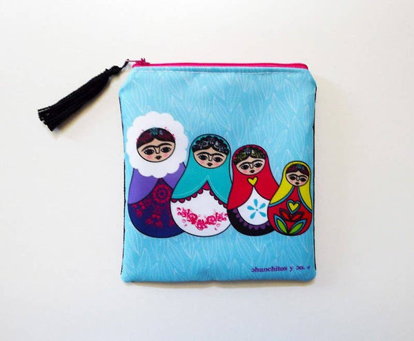 Chunchitos - Matrioska Frida Purse