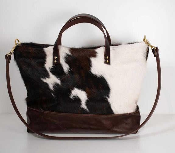 Created Beautifully - Ari Tote Bag - Cowhide