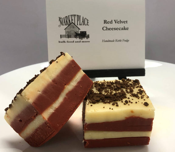 The Marketplace bulk food and more - Red Velvet Cheesecake Fudge