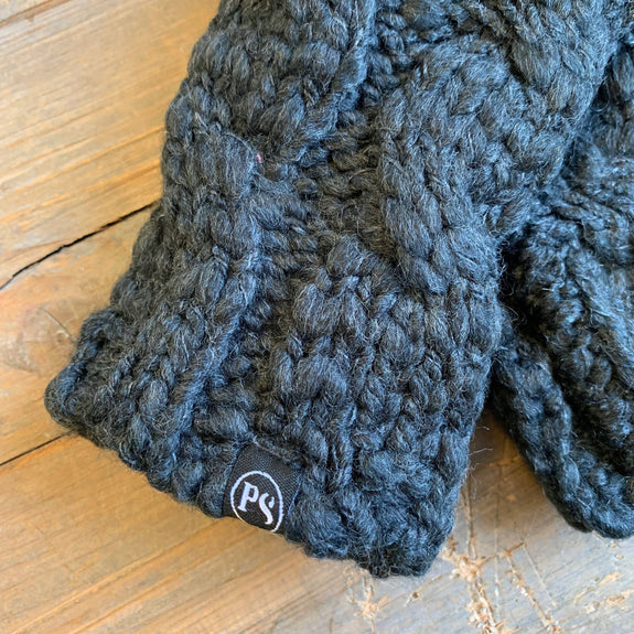 Pretty Simple - PS COZY KNIT FINGERLESS MITTENS