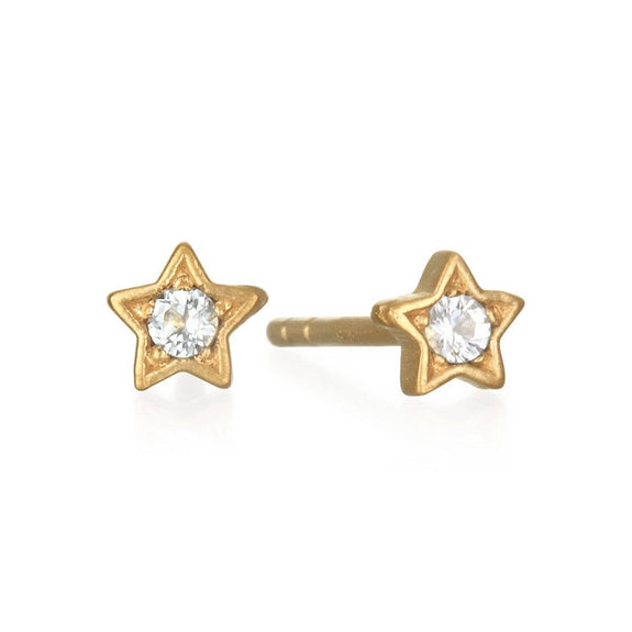 Satya Jewelry - Star Stud Earrings