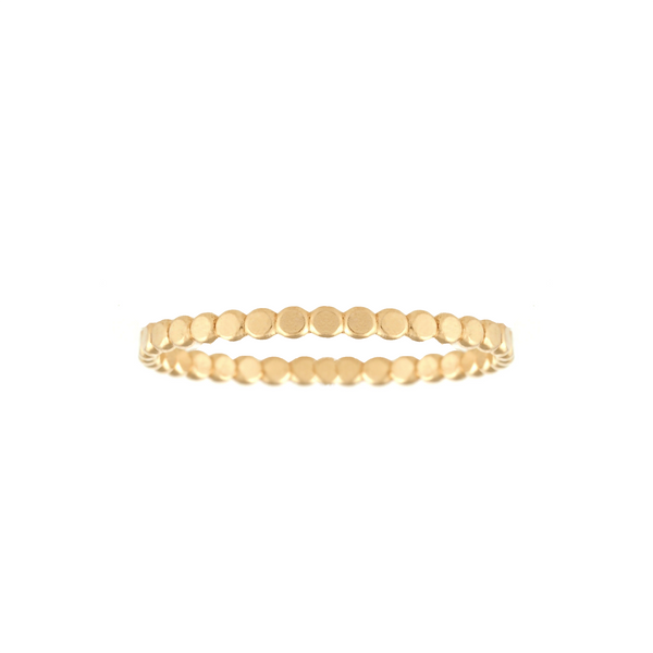 Mod + Jo - Stepping Stone Stacking Ring (Gold Filled)