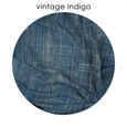 HUNTEDFOX - Vintage Indigo | Chair Lumbar With Fringe