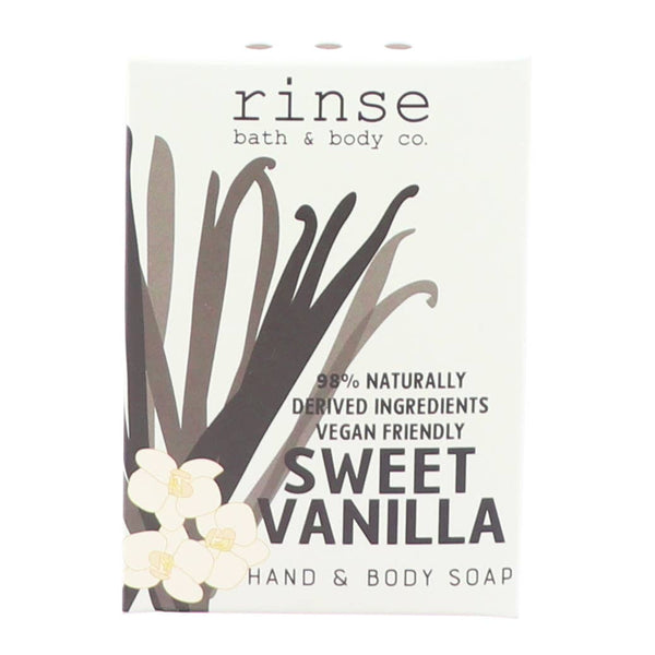 Rinse Bath Body Inc - Mini Sweet Vanilla Soap Bar