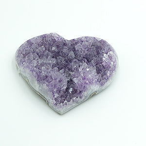 Amethyst Heart Shaped Stone