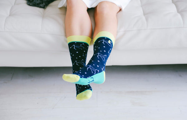 Woven Pear - Shine Bright Socks