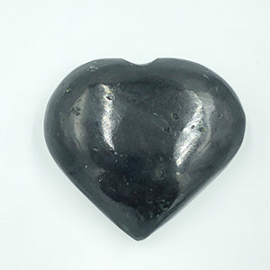 Black Tourmaline Heart Shaped Stone
