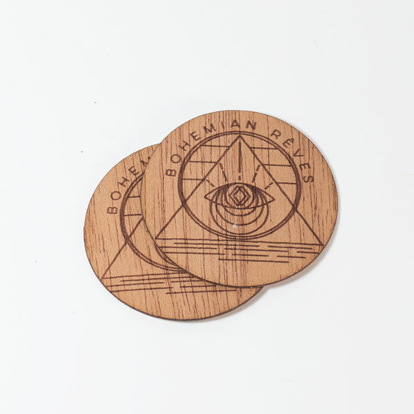 Bohemian Rêves - Bohem Wooden Sticker