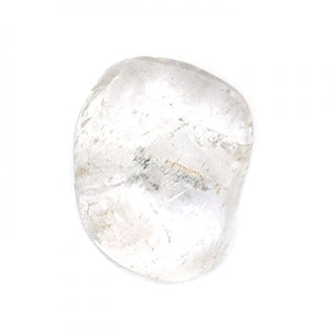 Clear Quartz Soap Shape Stone