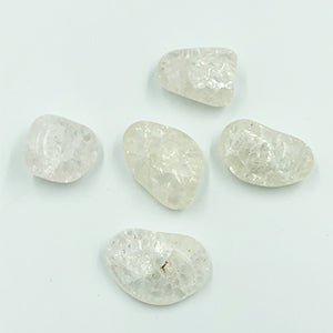 Crackled Quartz Tumbled