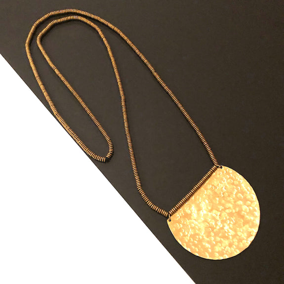 Boho Gal Jewelry - Shiloh Brass Necklace