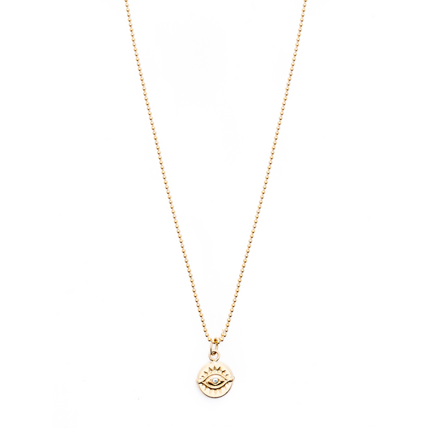 Mod + Jo - Pendant Necklace - Bright Eyed (Gold Filled)