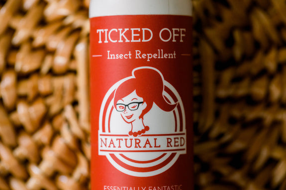 Natural Red - Ticked Off Insect Repellent