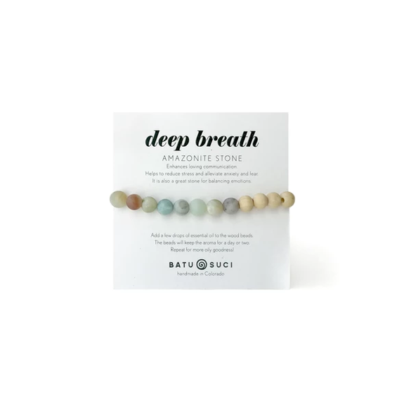 Batu Suci Jewelry - Deep Breath Diffuser Bracelet