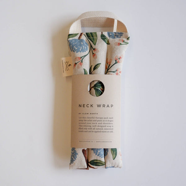 Slow North - Neck Wrap Therapy Pack | Peonies