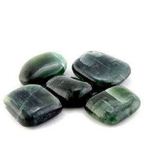 Green Kyanite Tumbled
