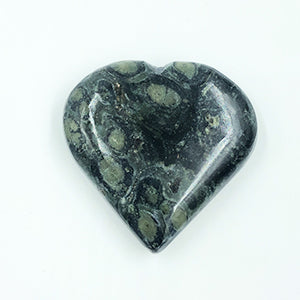 Kambaba Jasper Heart Shaped Stone