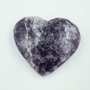 Lepidolite Heart Shaped Stone