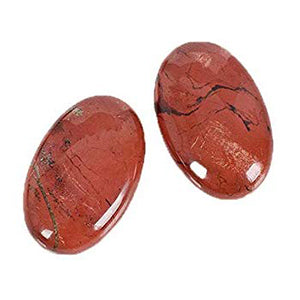 Red Jasper Soap Shape Stone