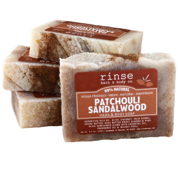 Rinse Bath Body Inc - Soap - Patchouli Sandalwood