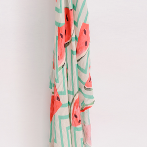 'Frolicking Watermelon' Baby Swaddle