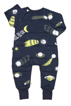 BONDS PADDED ZIP WONDERSUIT (Milky Way Navy)