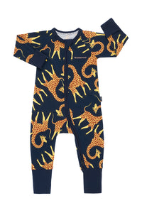 BONDS ZIP WONDERSUIT (Jelly Giraffe North West)