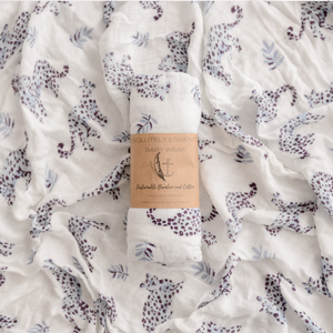 'Little Leopards' Baby Swaddle