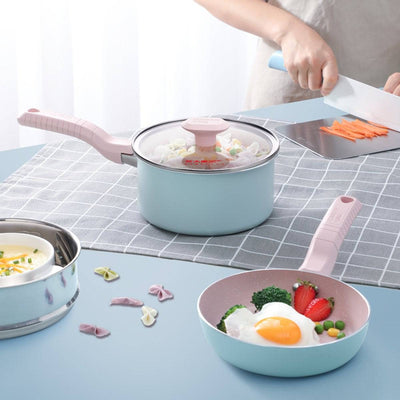 3Pcs Children's Complementary Food Cookware set - Cooker King