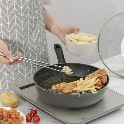 8.5 Inch/ 9Inch Non-stick Deep Frying Pan - Cooker King