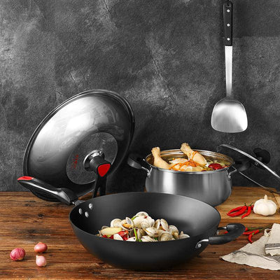 5Pcs Stainless steel cookware set - Cooker King