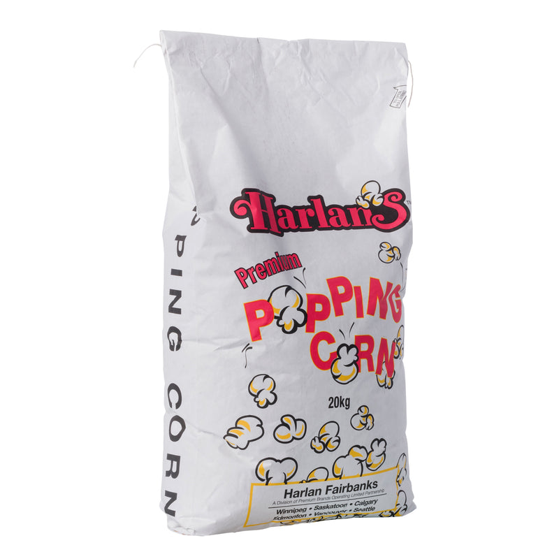 HARLAN'S XTRA POP RAW CORN 20 kg bag