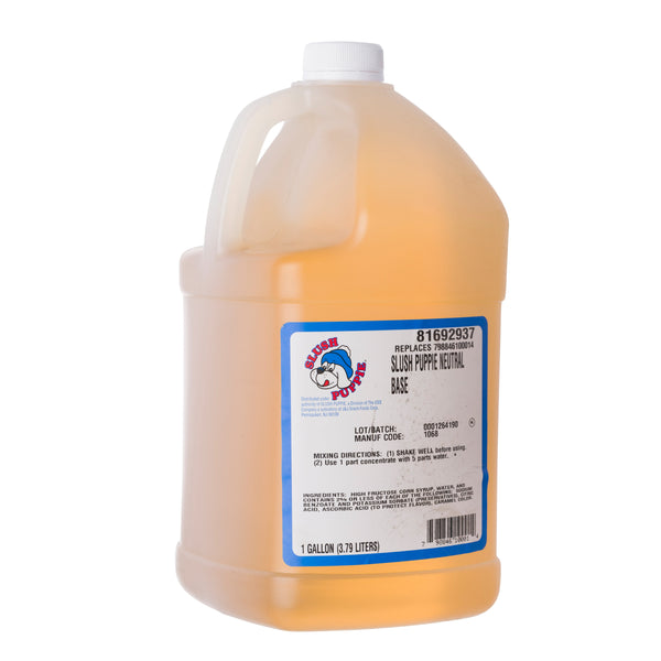 SLUSH PUPPIE NEUTRAL BASE 4/1 gal