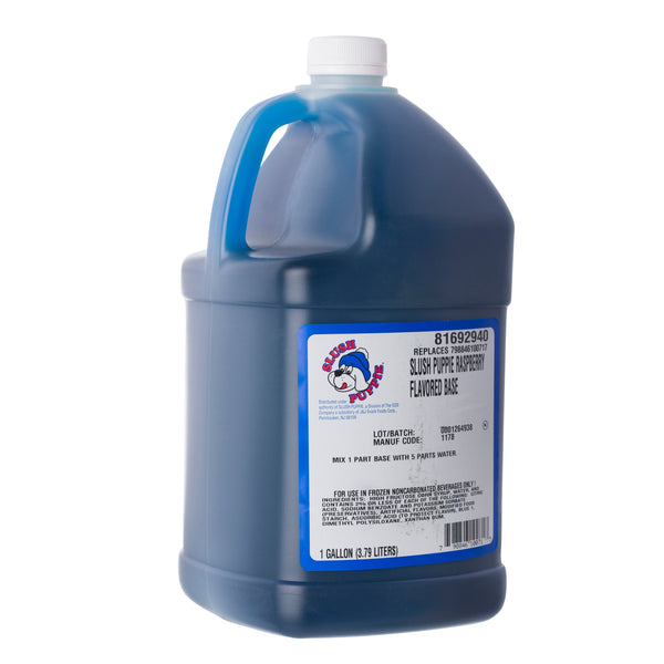 BLUE RASP FLAVOR BASE 4/1 gal