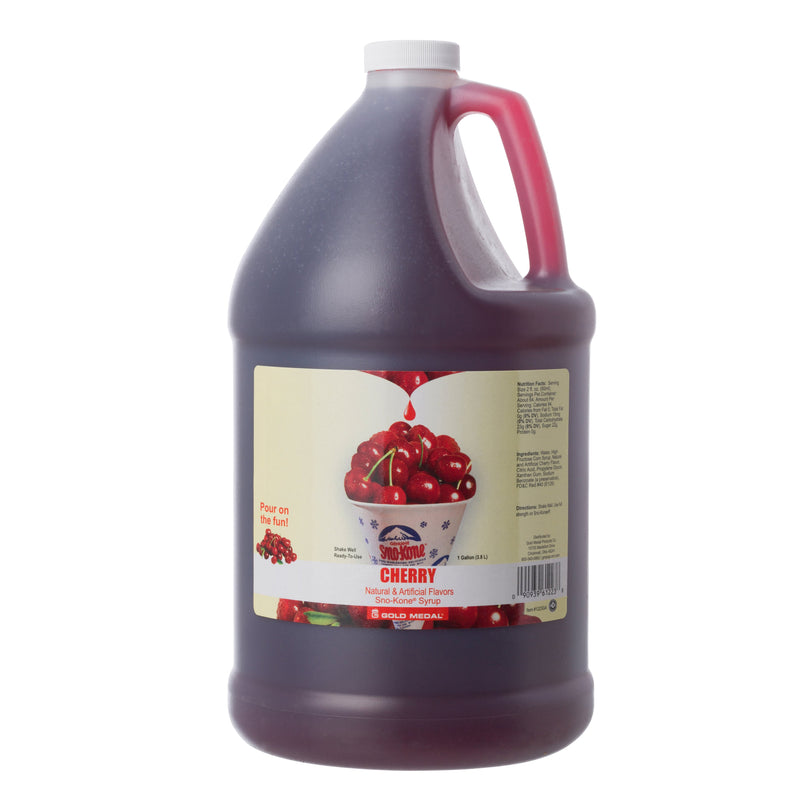 SNO-TREAT CHERRY 4/1 gal
