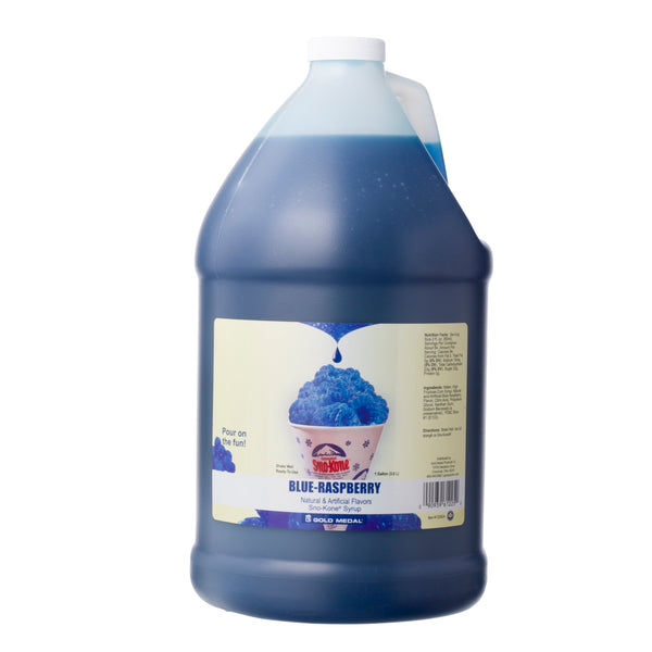SNO-TREAT BLUE RASP 4/1 gal