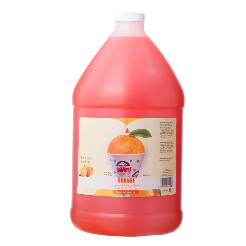 SNO-TREAT ORANGE 4/1 gal